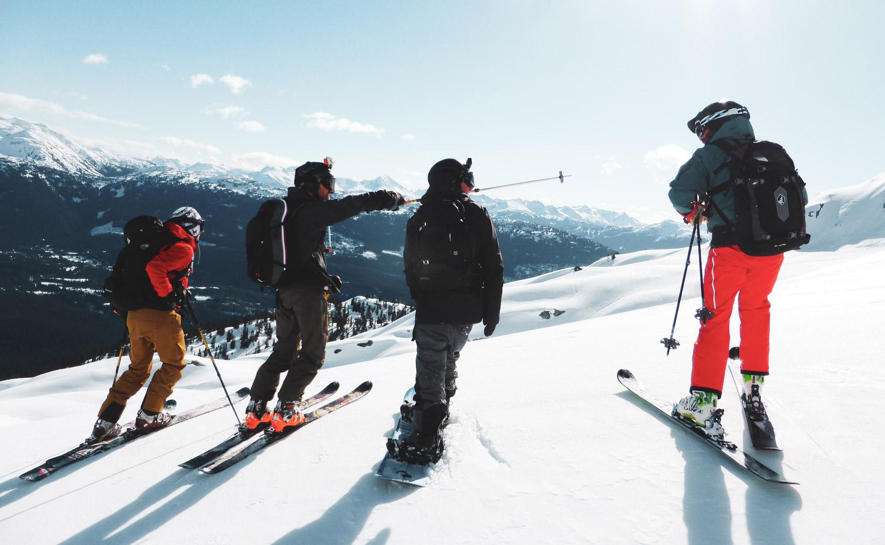 Laveno: Skiing