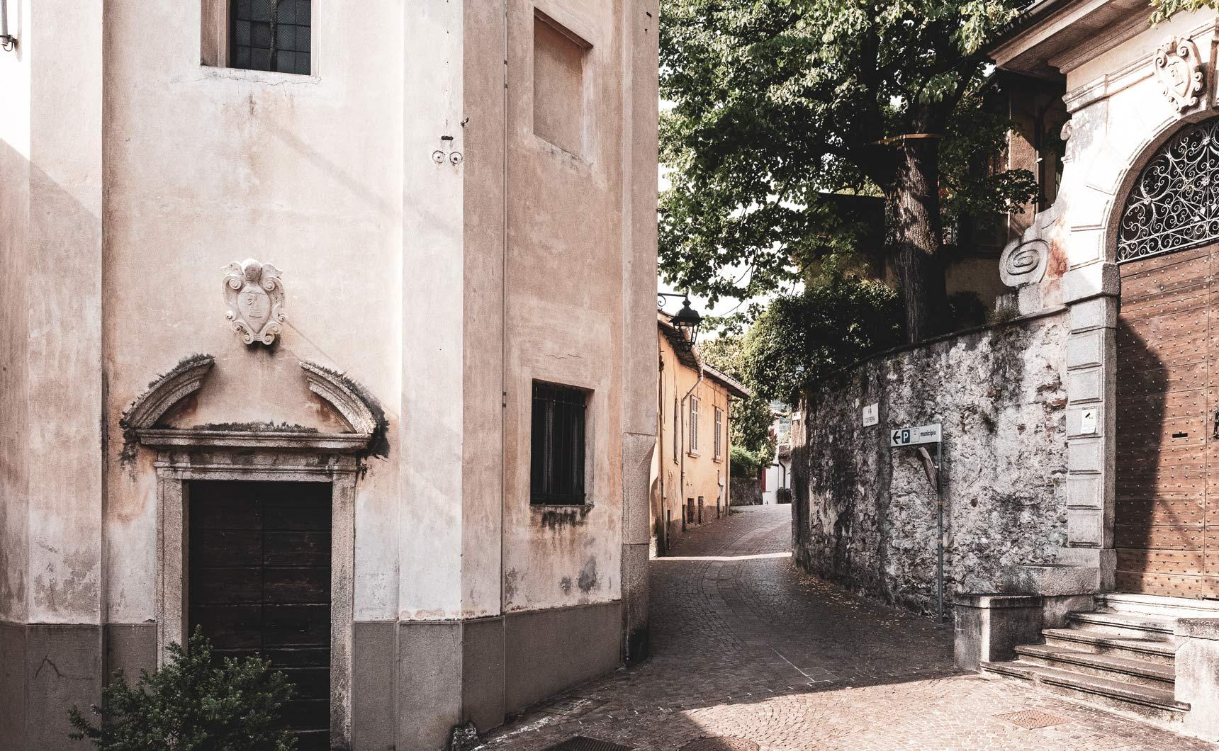Il progetto Laveno: via del paese