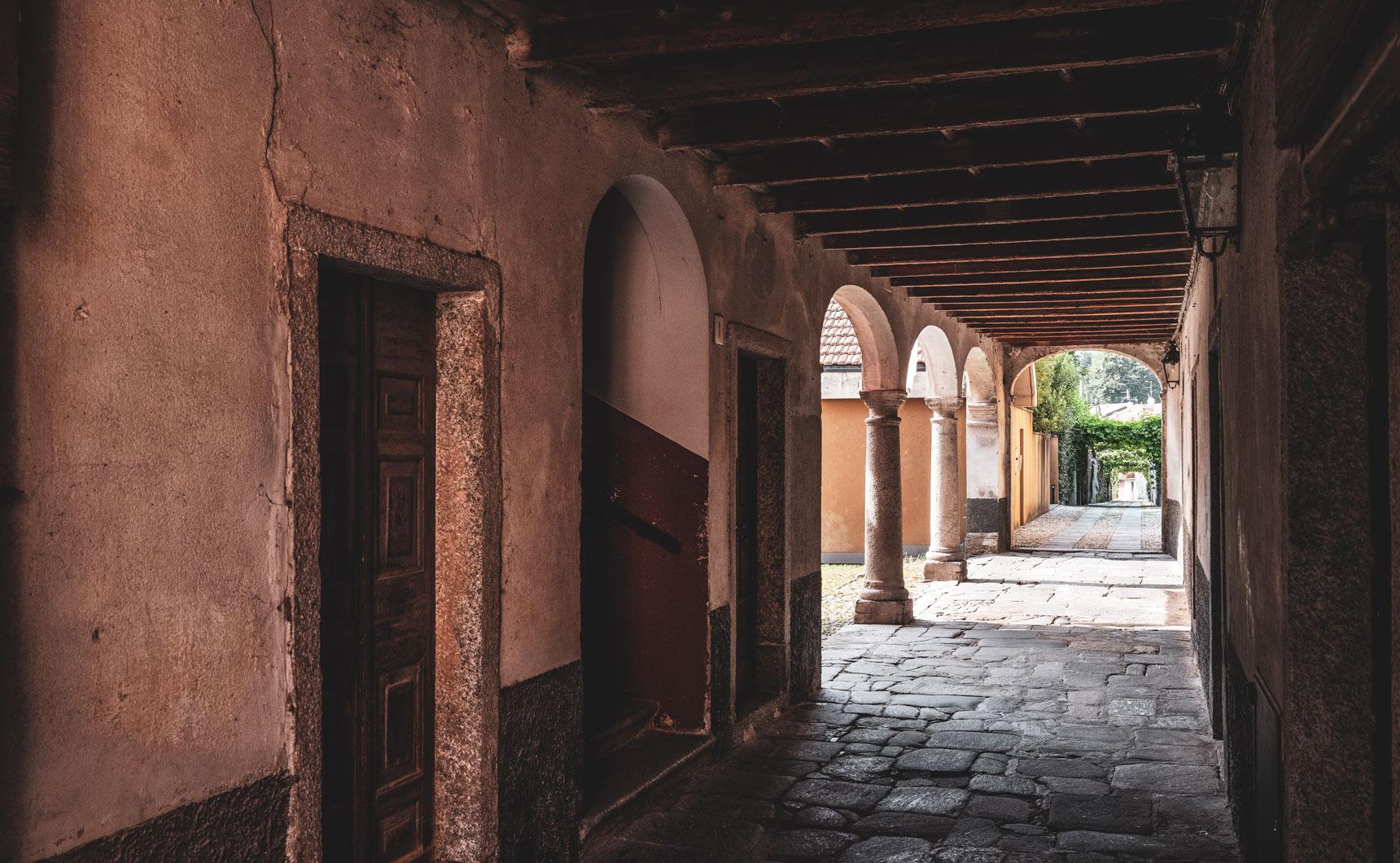 Il progetto Laveno: portici
