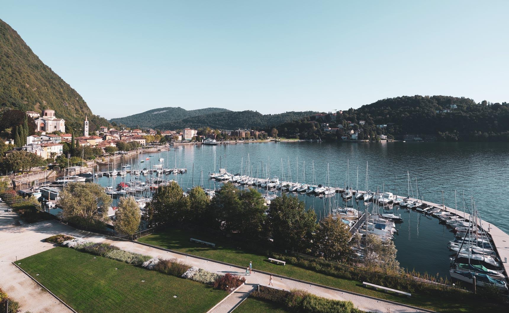 Il progetto Laveno: lago